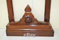 Antique Umbrella Stand Furniture Entryway Wooden Hallway Walking Stick Can