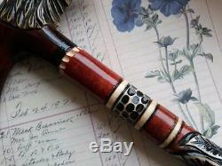 Hand carved walking sticks Wooden canes Wooden walking sticks Walking cane eagle
