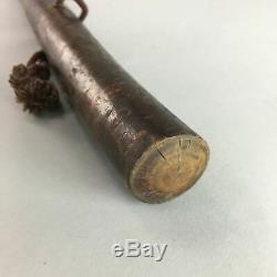Japanese Walking Stick Vtg Wooden Cane Tree Strong Lighweight Brown 93cm WS3