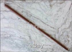 Lot of 5 Solid Brass Anchor Style Vintage Designer Wooden Walking Cane Stick