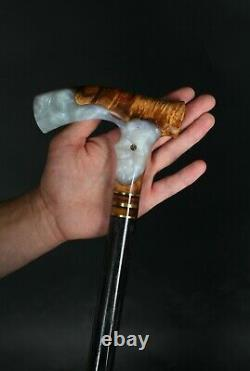 MAGIC GRAY Walking Cane Magnificent Wooden Can Incredible Walking Stick