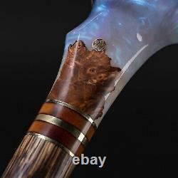 Magic Cane Fabulous Walking Stick for Gift Handmade Wooden Artwork
