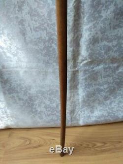 RARE Vintage old antique carved Walking Stick wooden Cane eagle