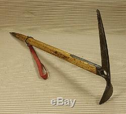 STUBAI Wooden Walking Stick Cane Ice axe