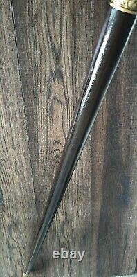 Simple Wooden Walking Stick Walking Cane Handmade