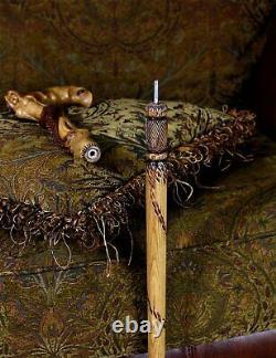 Syren Crying Mermaid Cane Walking stick Fantasy wooden cane