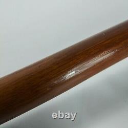 Unique Scrimshaw Topped Cane, 36 Wooden Decorative Walking Stick
