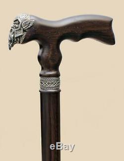 Viking Walking Cane for Men Fashionable Fancy Canes Cool Wooden Walking Sticks