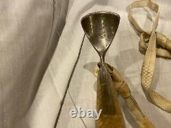 Vintage Austrian Stubai Ice Axe Walking Stick 31 long 10.5 pick wooden handle