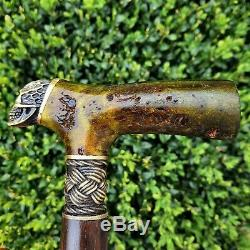 Walking Cane Walking Stick Handmade Wooden Cane Exclusive and Unique Design X25