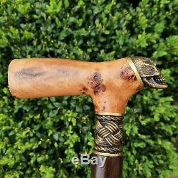 Walking Cane Walking Stick Handmade Wooden Cane Exclusive and Unique Design X34