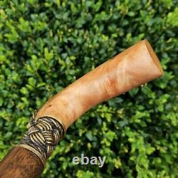 Walking Cane Walking Stick Handmade Wooden Cane Exclusive and Unique Design X38