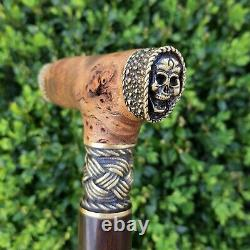 Walking Cane Walking Stick Handmade Wooden Cane Exclusive and Unique Design X90
