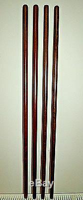 Wooden Brown Shafts for Stickmaking Beech Wood Walking Sticks Shanks/Blanks 23MM