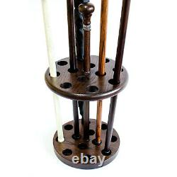 Wooden Stand Holder for Canes Walking Sticks and Umbrellas Stylish and Unique
