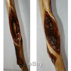 70 Big Grand Bâton De Marche Diamant Willow Wood En Bois Énorme Mur Hanger Rod Pole