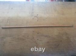 Antique Signé Canne En Bois Walking Stick Wood Yard Stick Edward Preston 36