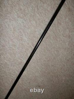 Antique Tassel Bâton De Marche / Canne Tan Mobilier En Bois 100.5cm