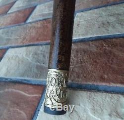 Bâton De Marche Elephant De Canne En Bois Burl Main Accessoires Pour Hommes De Canne