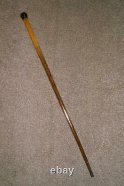 Bâton De Marche En Bois Antique/cane Avec Haut Arrondi 86cm