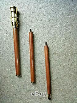 Bâton De Marche En Bois Avec Intégré Télescope