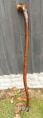 Bâton De Marche En Bois Shillelagh Blackthorn Fabriqué À La Main 41