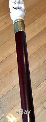 Bâton De Marche Vintage Avec Tige En Bois, Dessus Érotique Amovible 36l