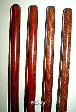 Brown En Bois Pour Shaft Stickmaking Bois De Hêtre Bâtons De Marche Shanks / Blanks 23mm