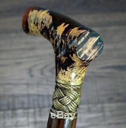 Burl Stabiliser Pirate Bronze Canes Bâtons De Marche En Bois Accessoires Canne