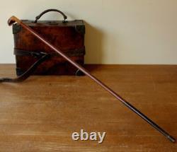 C'est L'ancienne Stick Du Dimanche. Bâton De Randonnée En Bois Club De Golf Cane. C1900