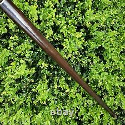 Canne Bâton À La Main En Bois Canne Marche Stabilisé Burl Poignée Y84