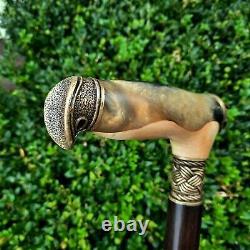 Canne Walking Stick Handmade Wooden Walking Cane Hybrid Acrylique Burl Handle Z63