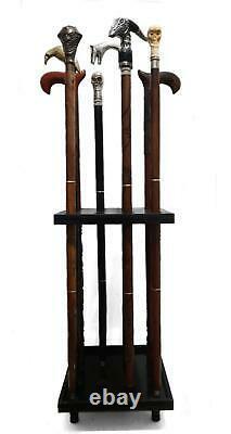 Display Stands Cambridge Wooden Cane Rack Walking Stick Display Stand