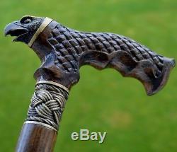 Oak Canes Bâtons De Marche Accessoires De Canne Eagle En Bois Reed Main Men