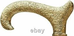 Poignée De Tête Vintage Pour Wooden Walking Stick Canne Gentleman Antique Lot De 10