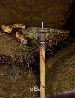 Sculpté À La Main Bâton De Marche Canne Sirène D Siren Main D'art En Bois Conçu Pour Les Hommes