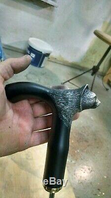 Sculpté En Bois Marche Unique Main Bâton Canes Pour Couteau Ouvert Poignée Hommes
