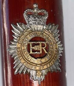 Vintage Royal De Transport Swagger Corps Bâton En Bois Marche De Canne Britannique