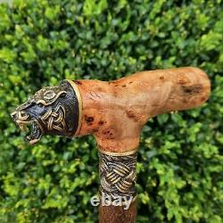 Walking Cane Walking Stick Handmade Wooden Cane Exclusive And Unique Design X35