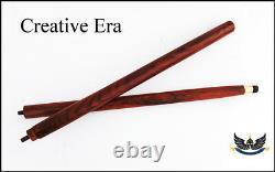 Wood Walking Stick Cane 2 Pli Seulement Pour Poignée En Laiton (seul Arbre En Bois) Lot 10